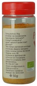 Curry BIO, 50g1