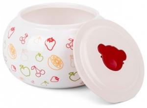 Iaurtiera-fermentator Oursson FE2305D/OR, vas de ceramica, 1,5 L, Portocaliu [2]