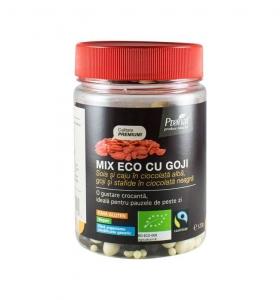 Mix Bio cu goji - fructe uscate, 120gr