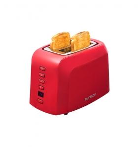 Prajitor de paine Oursson TO2145D/RD, panou de control digital, 800 W, Rosu1