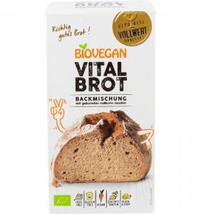 Premix bio pentru paine Vital, fara gluten, 315g0