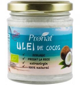 Ulei  de cocos extravirgin BIO presat la rece 200ml0