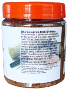 Zahar Bio din trestie, Demerara, 400 g1