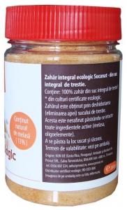 Zahar integral Bio, Sucanat, 200 g1