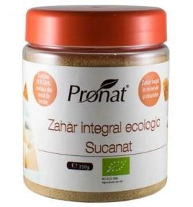 Zahar integral Bio, Sucanat, 350 g
