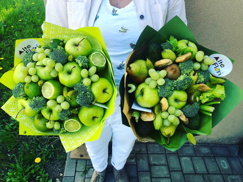 Cum sa creezi un buchet cu fructe personalizat, Alte Flori? 4 pasi simpli.
