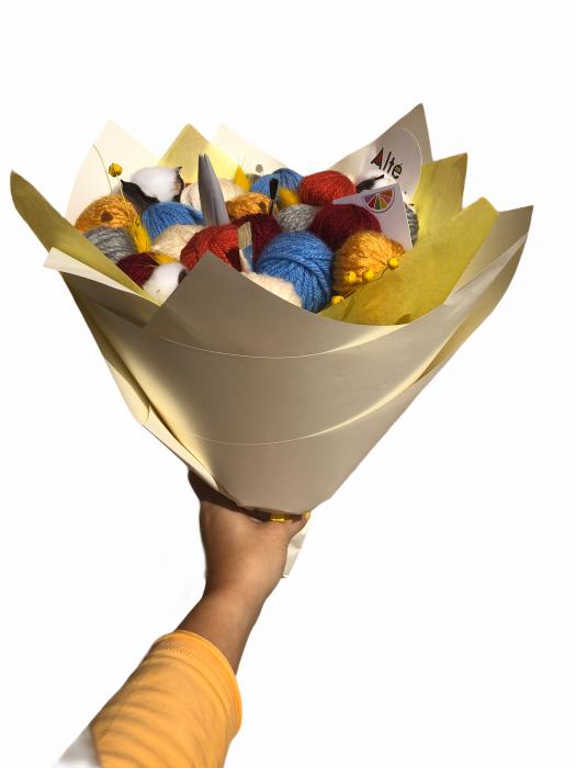 Buchet cu gheme. Alte flori [5]