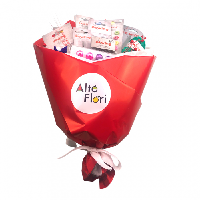 Buchet de flori pentru croitorese [3]