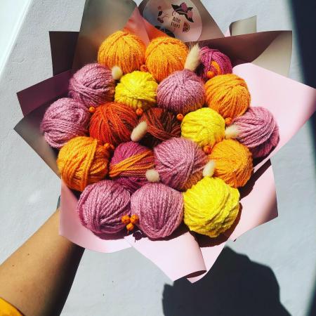 Buchet cu gheme. Alte flori [3]