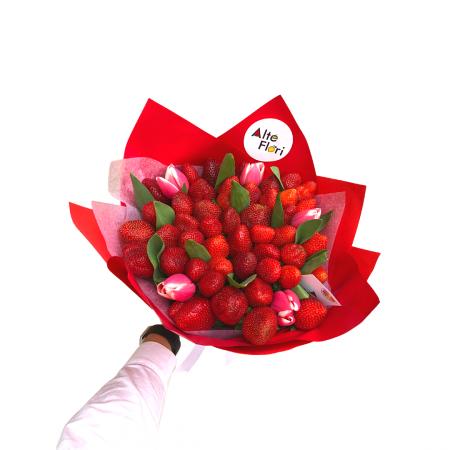 Buchet de flori cu capsuni [0]