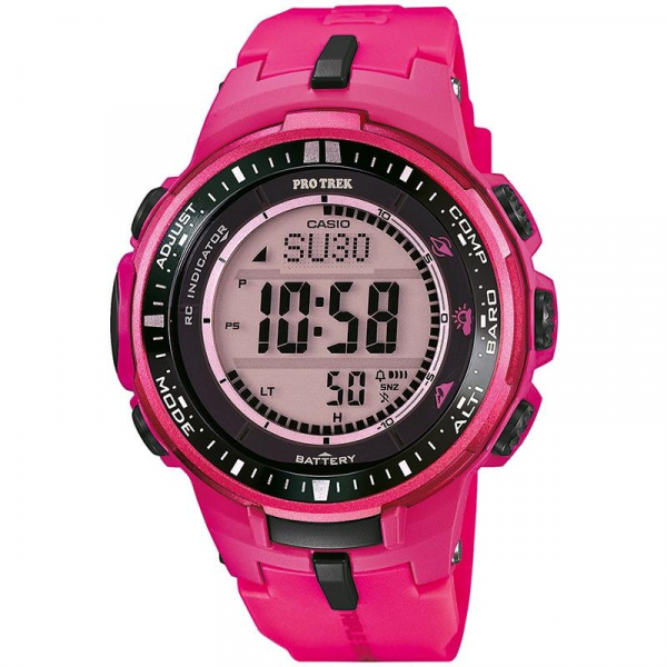 Ceas CASIO PRO TREK TOUGH SOLAR PRW-3000-4BE 0