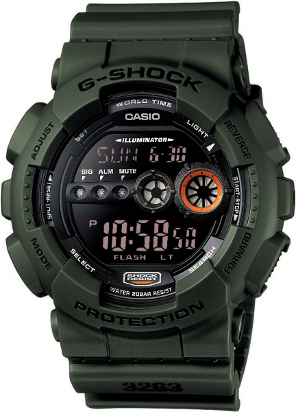 Ceas Casio G-Shock GD-100MS-3ER 0