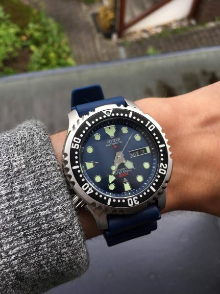 "Ceas Citizen Promaster Automatic Diver""s NY0040-17LE 2"