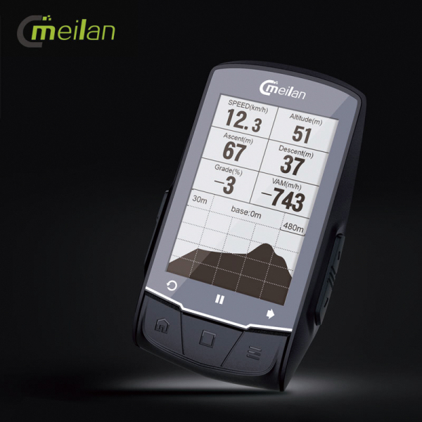 Ciclocomputer cu GPS Meilan M1 4