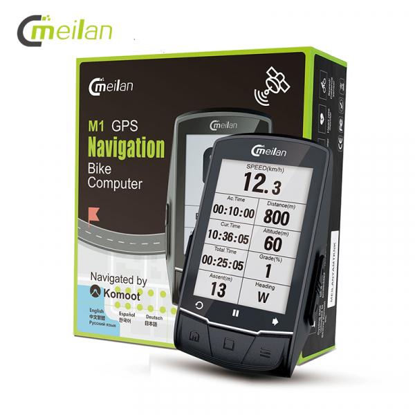 Ciclocomputer cu GPS Meilan M1 5