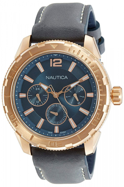 Ceas Nautica STL LEATHER MULTIFUNCTION 0