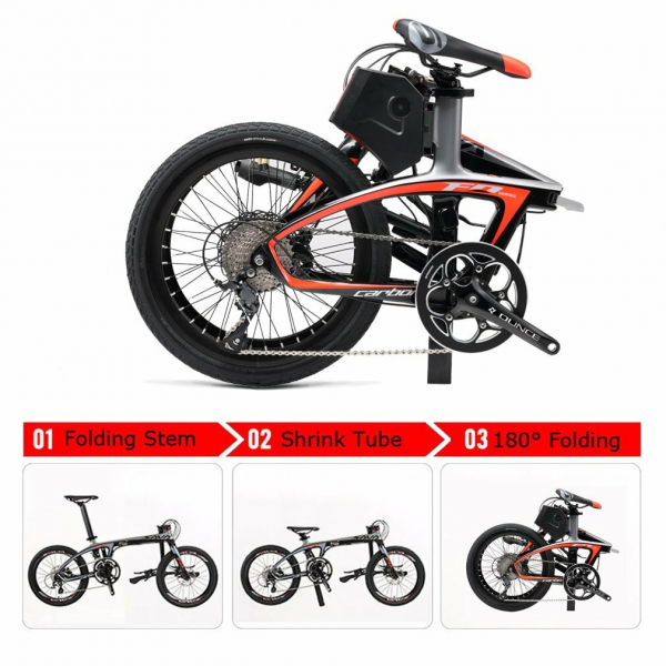 Bicicleta electrica SAVA  E‐Folding Bike  E6 – 9S 1