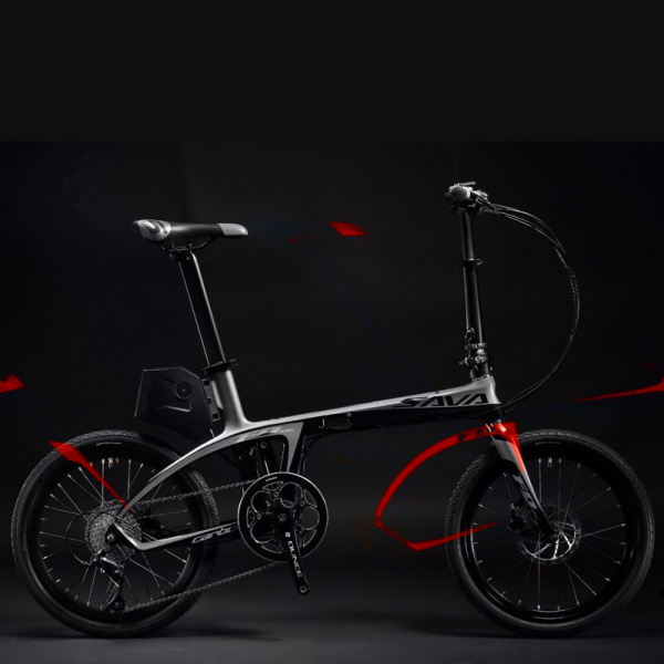 Bicicleta electrica SAVA  E‐Folding Bike  E6 – 9S 6
