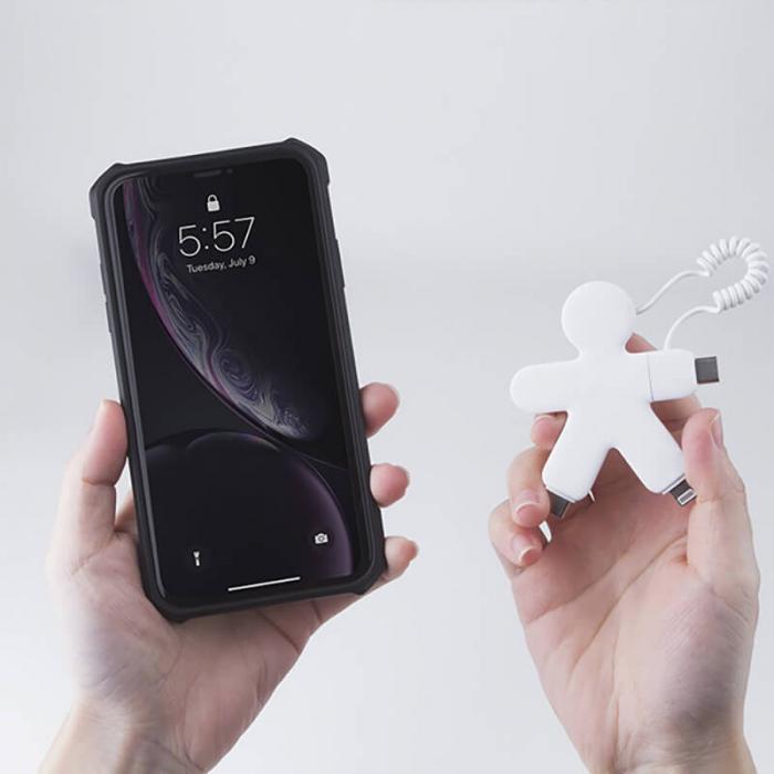 Cablu micro USB tip C - OCTOPUS Bio Xoopar [2]