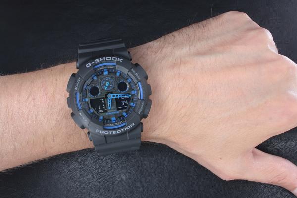 Ceas Casio G-Shock GA-100-1A2ER 6