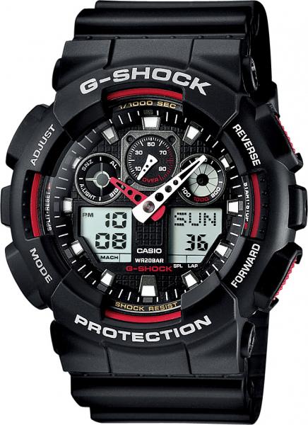 Ceas Casio G-Shock GA-100-1A4ER 0