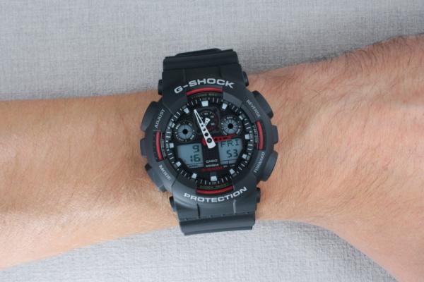 Ceas Casio G-Shock GA-100-1A4ER 6