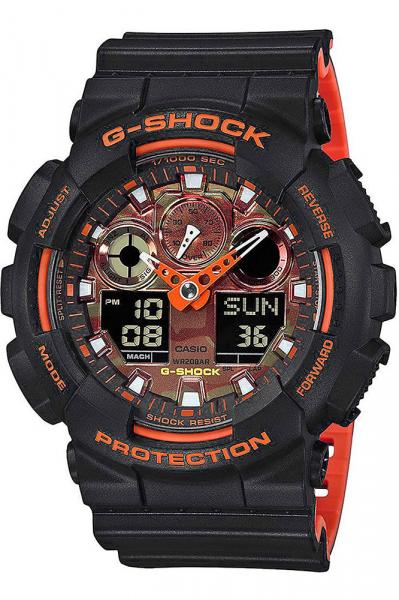 Ceas Casio G-Shock GA-100BR-1AER 0