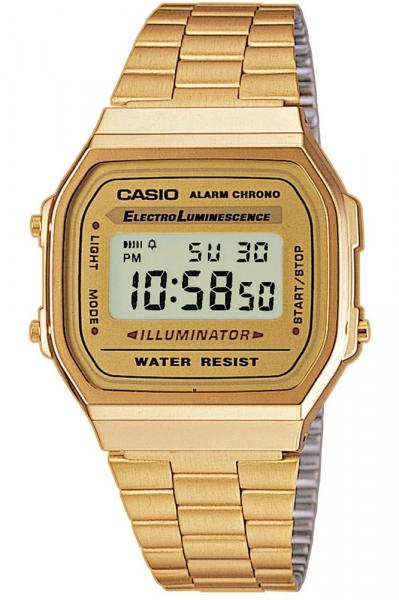 Ceas Casio Retro Vintage A168WG-9E 0