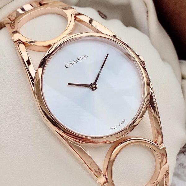 Ceas Dama Calvin Klein Round K5U2M646 1