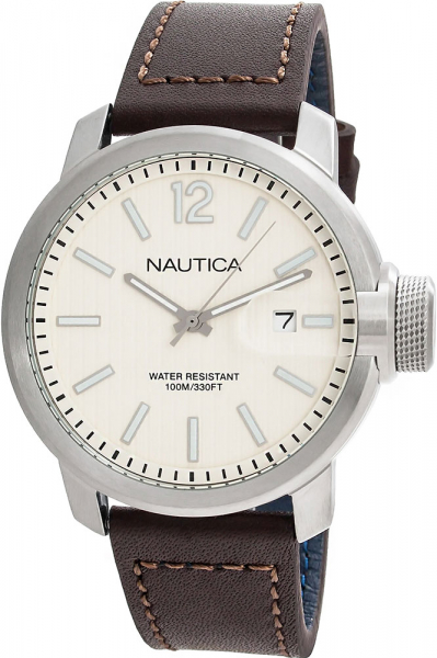 Ceas Nautica SYD LEATHER DATE 0