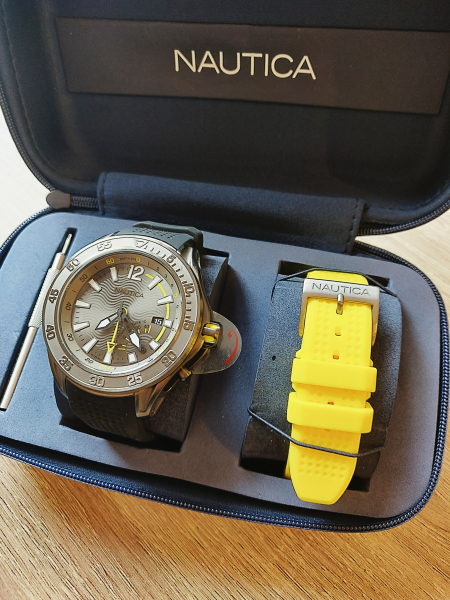 Ceas pentru scufundari Nautica Breakwater (Set) 4