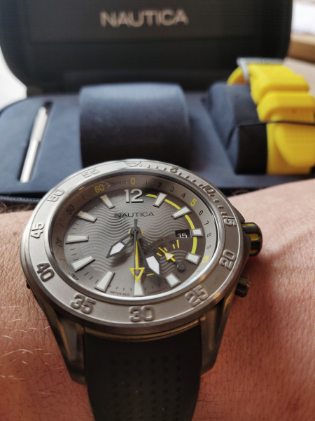 Ceas pentru scufundari Nautica Breakwater (Set) 5