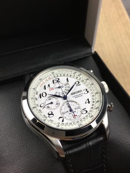 Ceas Seiko Chronograph Perpetual Calendar SPC131P1 1