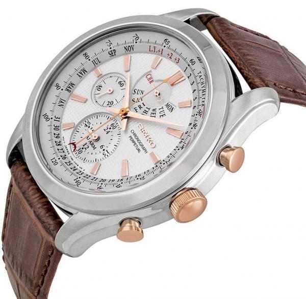 Ceas Seiko Chronograph Perpetual Calendar SPC129P1 1