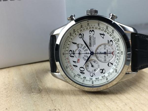 Ceas Seiko Chronograph Perpetual Calendar SPC131P1 13