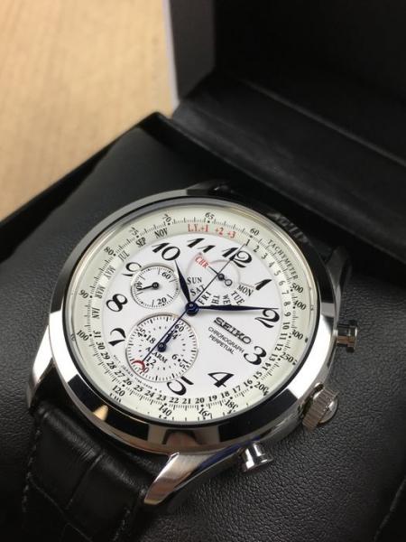 Ceas Seiko Chronograph Perpetual Calendar SPC131P1 10