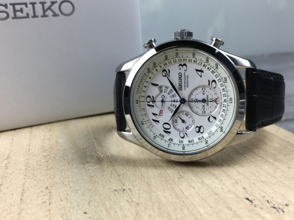 Ceas Seiko Chronograph Perpetual Calendar SPC131P1 12