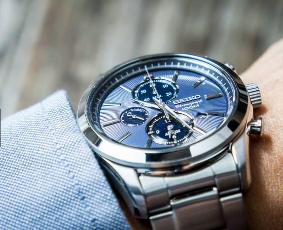 Ceas Seiko Cronograph SNAF65P1 3