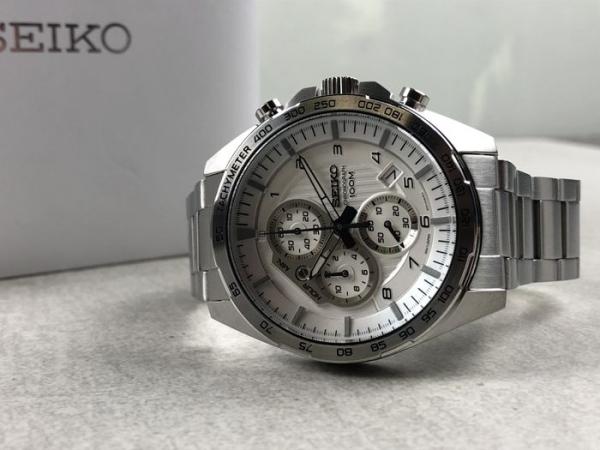 Ceas Seiko Cronograph SSB317P1 6