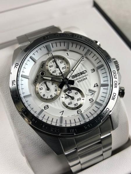 Ceas Seiko Cronograph SSB317P1 3