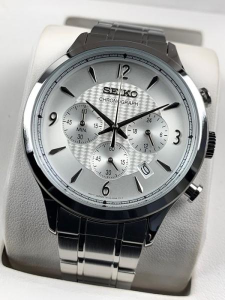 Ceas Seiko Cronograph SSB337P1 2