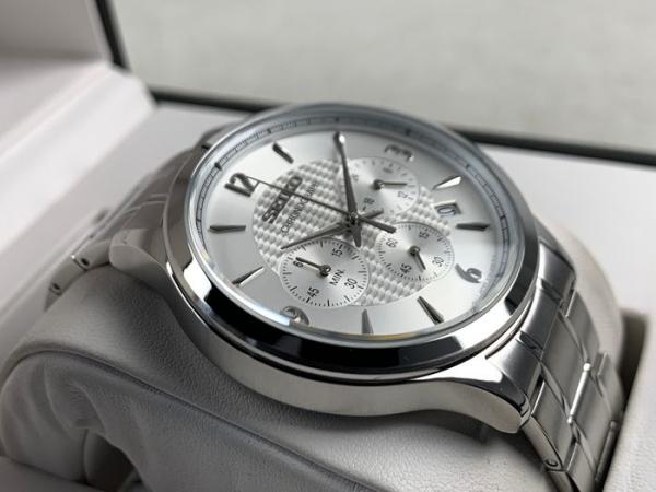 Ceas Seiko Cronograph SSB337P1 5