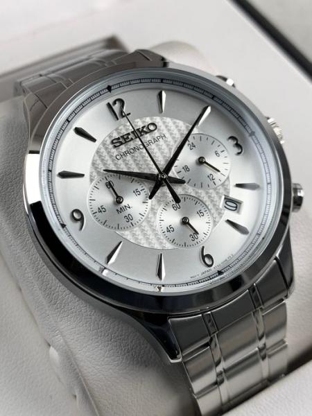 Ceas Seiko Cronograph SSB337P1 3