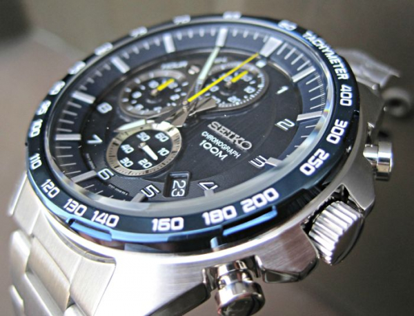 Ceas Seiko Sports Chronograph SSB321P1 12