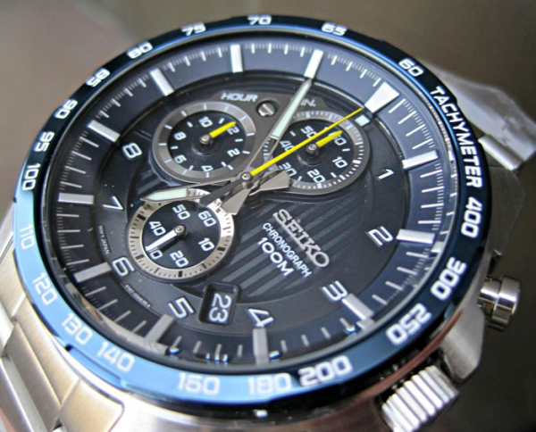 Ceas Seiko Sports Chronograph SSB321P1 14