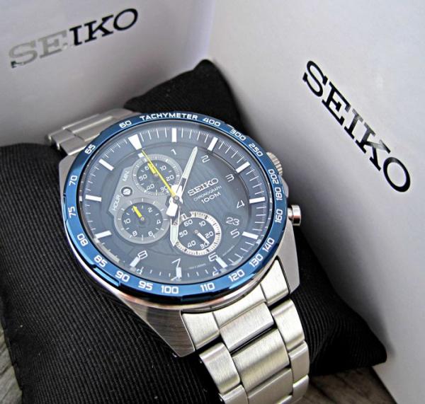 Ceas Seiko Sports Chronograph SSB321P1 10