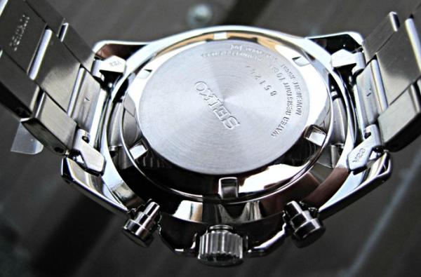 Ceas Seiko Sports Chronograph SSB321P1 8