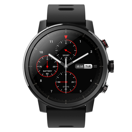 Ceas smartwatch Xiaomi Amazfit Stratos, Black 0