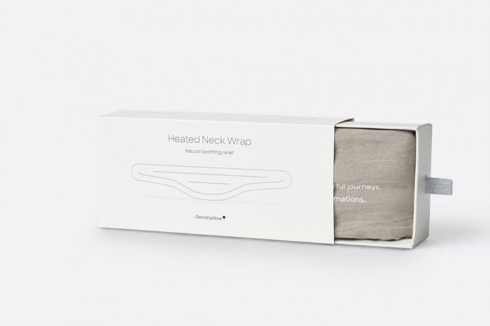 Centura cervicala premium Ostrichpillow Heated Neck Wrap [8]
