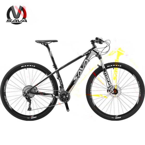 "Bicicleta Carbon  SAVA MTB Deck 300   29"" 1"
